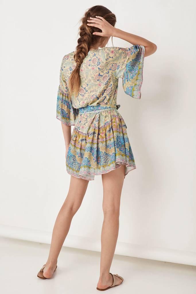 9631a2d993dc Spell Oasis Mini Dress Opal | Midnight Rambler Boutique | Women's ...