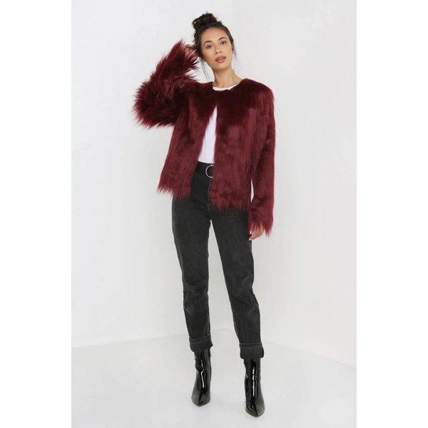 Unreal Fur Unreal Dream Jacket Rust