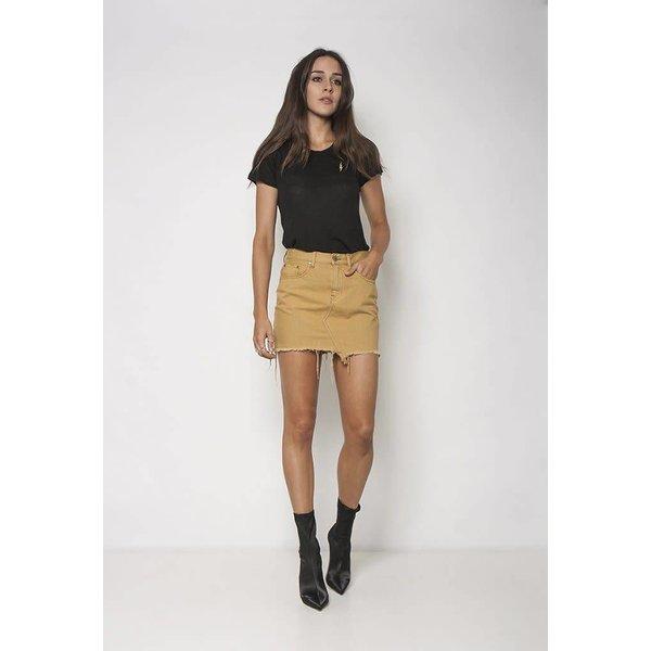 Neon Blonde Tease Skirt Wild Honey
