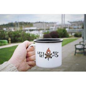 Enamel Co. Get Lit Enamel Mug