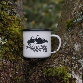 Enamel Co. Adventure Awaits Enamel Mug