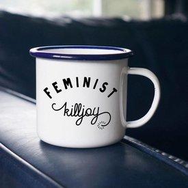 Enamel Co. Feminist Enamel Mug