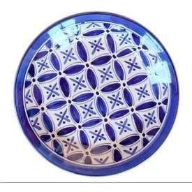 Blue Fez Side Plate