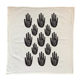 Native Bear Tea Towel : Palm Reader