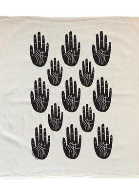 Native Bear Tea Towel : Palm Reader