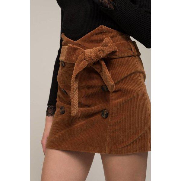 Moon River Double Botton Skirt