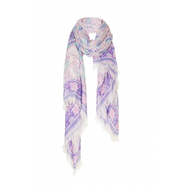 Spell and the Gypsy Collective Poinciana Travel Scarf Lilac