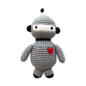 Cheengoo Robot Crocheted Rattle