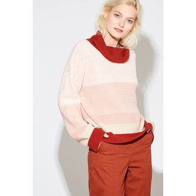 Callahan Nathalee Mock Sweater