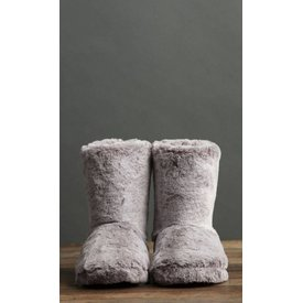 Lemon Soft Faux Fur Boot