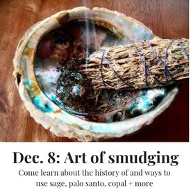 Art of Smudging Workshop