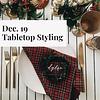 Tabletop Styling Workshop