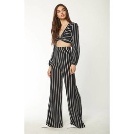 Flynn Skye Ride or Die Pant True Black Stripe