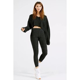 Joah Brown Lux Pocket Legging Marble Hacci