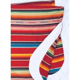 Selvedge Dry Goods Red Serape Blanket