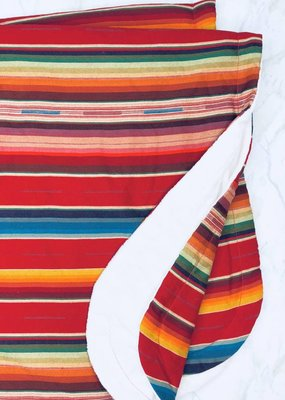 Selvedge Dry Goods Red Serape Blanket
