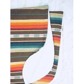 Selvedge Dry Goods Brown Serape Blanket