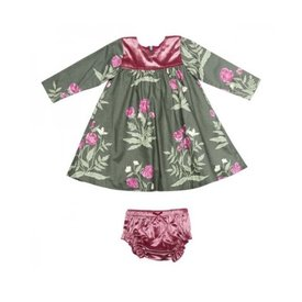 Pink Chicken Ivy Dress Set