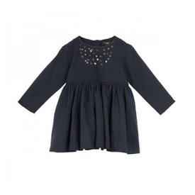Velveteen Blackberry Camille Dress