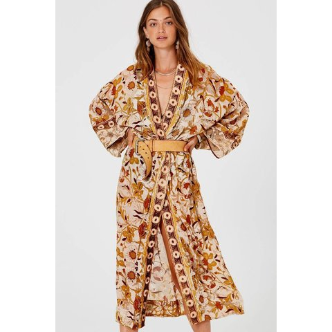 Paradise Kimono Ginger Wallflower