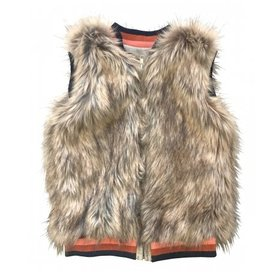 Anthem of the Ants Faux Fur Vest