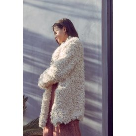 Sage the Label Penny Lane Jacket Light Taupe