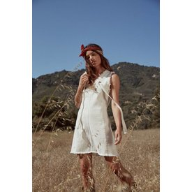 Sage the Label Picnic Dress White