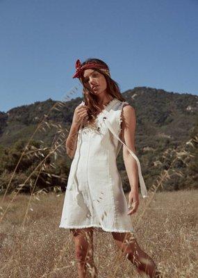 Sage the Label Picnic Dress White