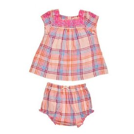 Pink Chicken Vintage Plaid Marabelle 2 pc Set