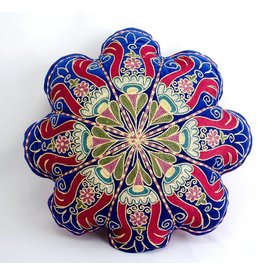 Vintage Flower Suzani Pillow
