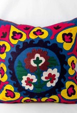 "Blue Vintage suzani pillow cover 19""x19"""