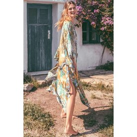 Spell and the Gypsy Collective Willow Maxi Kimono - Meadow