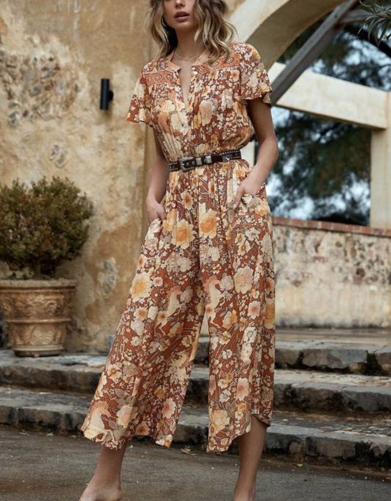 Spell and the Gypsy Collective Amethyst Pantsuit - Amber