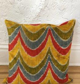 "MD Home Psychadellic Rainbow Pillow 20""x20"""