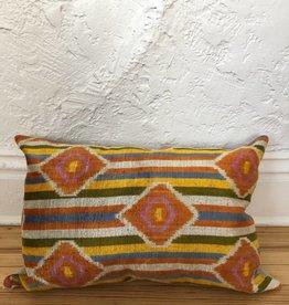 "MD Home Rainbow Diamond Pillow 14""x22"""