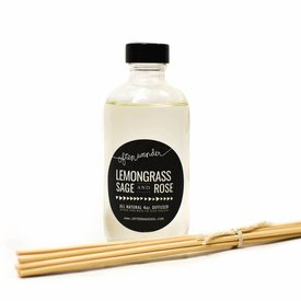 Wander Often Apothec Diffuser Lemongrass, Sage and Rose