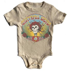 Rowdy Sprout Grateful Dead distressed onesie
