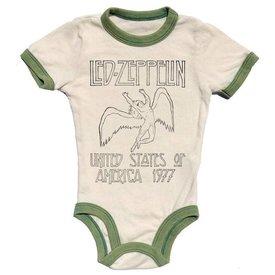 Rowdy Sprout Led Zepplin vintage wash onesie
