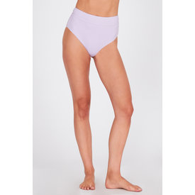 Amuse Society Adley High Waist Swim Bottom Lilac