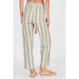 Amuse Society Bay Bay Pant Palm Green