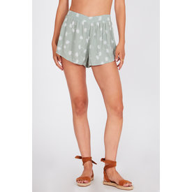 Amuse Society Mojito Short Palm Green