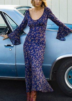 Novella Royale Heather Dress Midnight Daisies