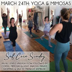 March 24: Yoga & Mimosas