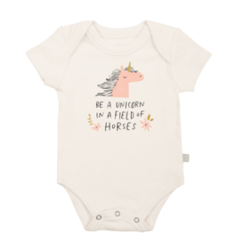 Finn + Emma Field of Horses Bodysuit