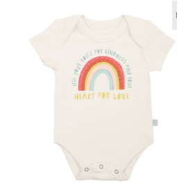 Finn + Emma Kindness Rainbow Bodysuit