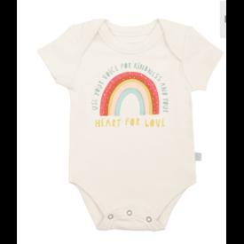 Finn + Emma Kindness Rainbow Bodysuit