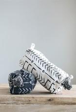 MR Home Mud Cloth Print Zip Pouch w/ Tassel