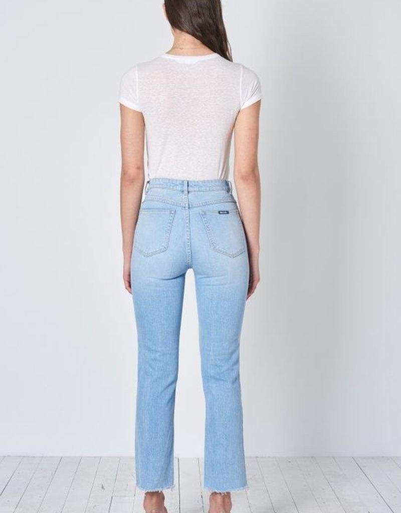Rollas Original Straight Jean in Comfort Sky