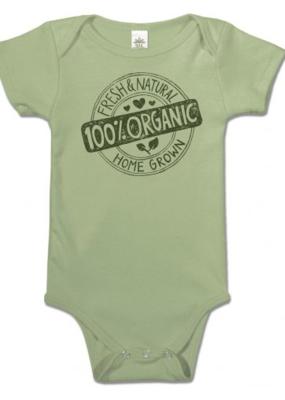 Soul Flower 100% Organic Baby Bodysuit