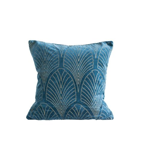 "20""Square Cotton Velvet Pillow"